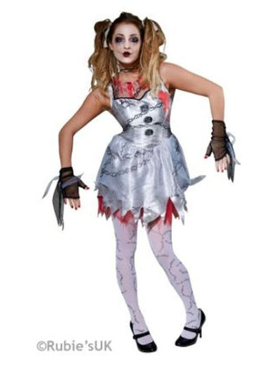 Deathly Doll Costume - Size S-Costumes - Women-Jokers Costume Hire and Sales Mega Store