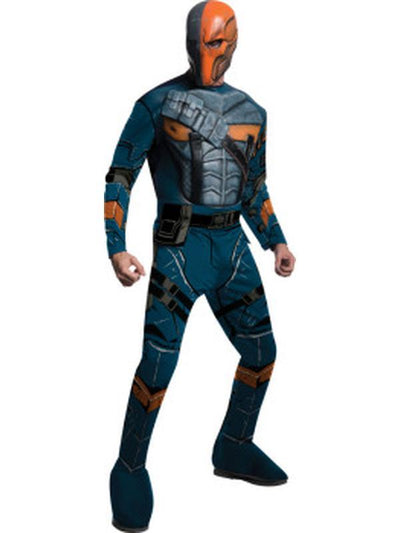 Deathstroke Deluxe - Size S-Costumes - Mens-Jokers Costume Mega Store