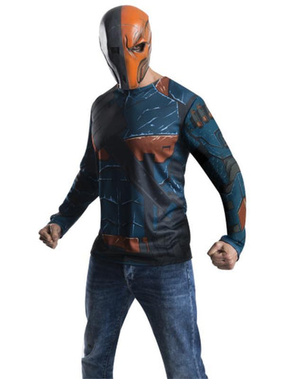 Deathstroke - Size L-Costumes - Mens-Jokers Costume Hire and Sales Mega Store