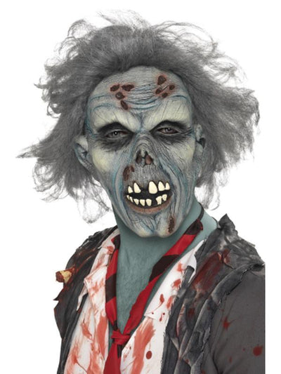 Decaying Zombie Mask-Masks - Latex-Jokers Costume Hire and Sales Mega Store
