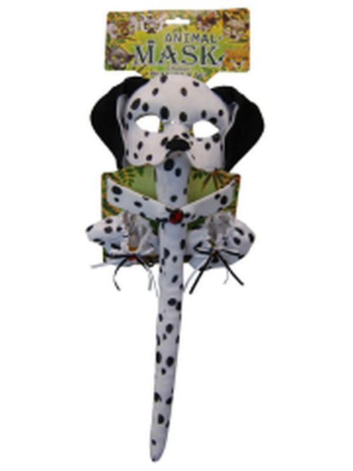 Deluxe 5pc Animal Set - Dalmatian-Masks - Animal-Jokers Costume Hire and Sales Mega Store