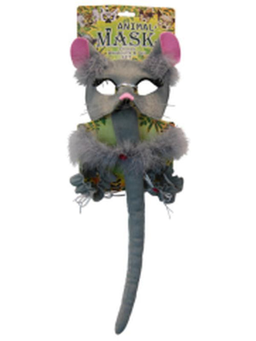 Deluxe 5pc Animal Set - Mouse-Masks - Animal-Jokers Costume Hire and Sales Mega Store