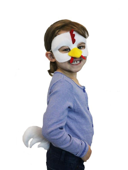 Deluxe Animal Set - Chicken-Masks - Animal-Jokers Costume Hire and Sales Mega Store