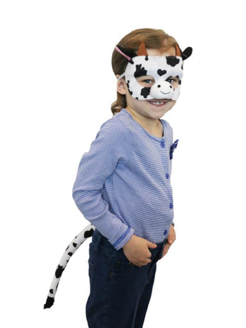 Deluxe Animal Set - Cow-Masks - Animal-Jokers Costume Hire and Sales Mega Store