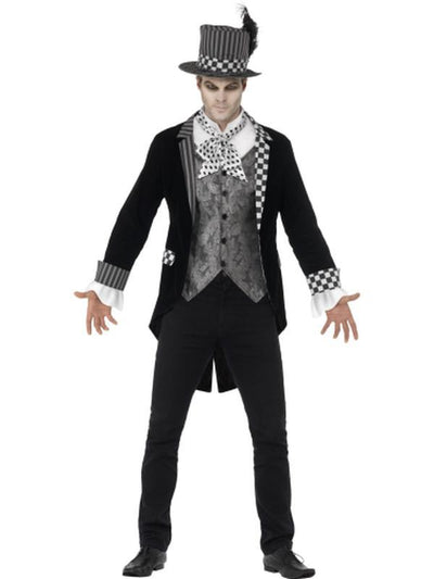 Deluxe Dark Hatter Costume-Costumes - Mens-Jokers Costume Hire and Sales Mega Store