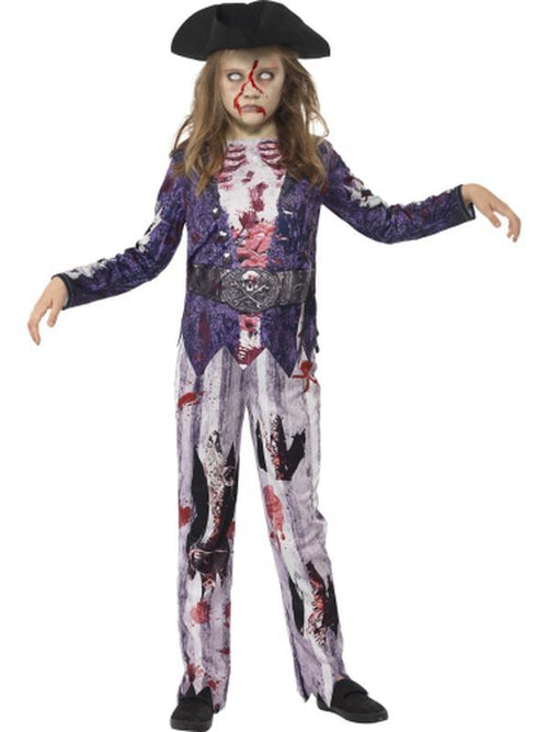 Deluxe Jolly Rotten Pirate Girl Costume-Costumes - Girls-Jokers Costume Hire and Sales Mega Store