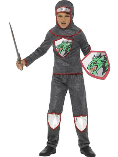 Deluxe Knight Costume-Costumes - Boys-Jokers Costume Hire and Sales Mega Store