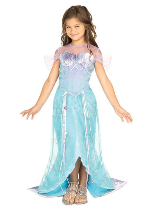 Deluxe Mermaid - Size S-Costumes - Girls-Jokers Costume Hire and Sales Mega Store
