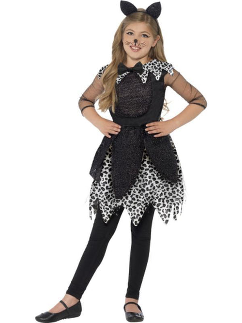 Deluxe Midnight Cat Costume-Costumes - Girls-Jokers Costume Hire and Sales Mega Store