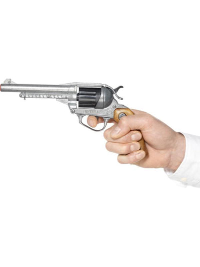 Deluxe Nevada Style Pistol-Weapons-Jokers Costume Hire and Sales Mega Store