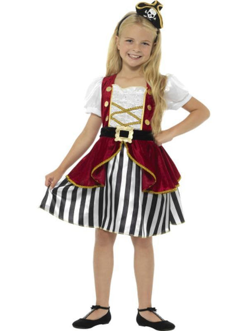 Deluxe Pirate Girl Costume-Costumes - Girls-Jokers Costume Hire and Sales Mega Store