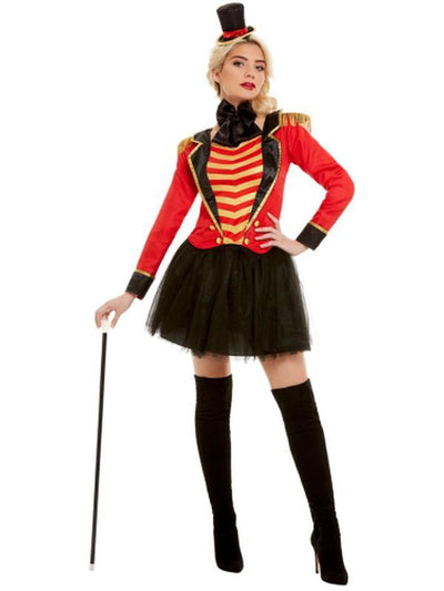 Deluxe Ringmaster Lady Costume-Costumes - Women-Jokers Costume Hire and Sales Mega Store
