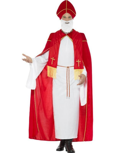 Deluxe Saint Nicholas Costume-Costumes - Mens-Jokers Costume Hire and Sales Mega Store