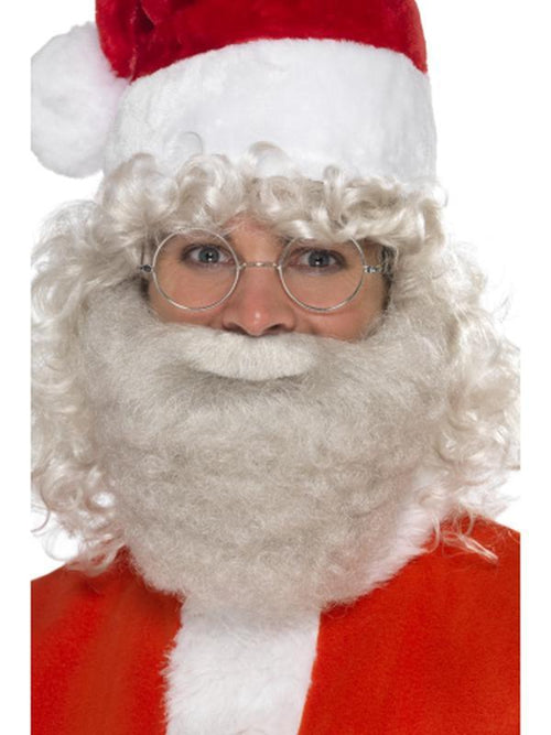 Deluxe Santa Beard Pearl-Beards and Moustaches-Jokers Costume Hire and Sales Mega Store