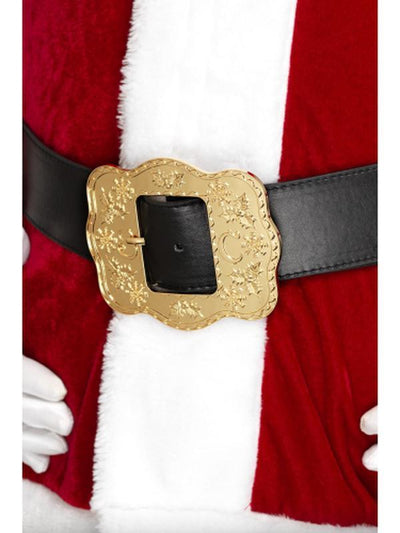 Deluxe Santa Belt-Costume Accessories-Jokers Costume Hire and Sales Mega Store