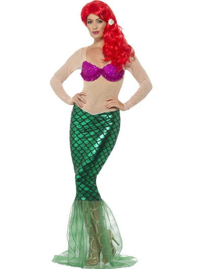 Deluxe Sexy Mermaid Costume-Costumes - Women-Jokers Costume Hire and Sales Mega Store