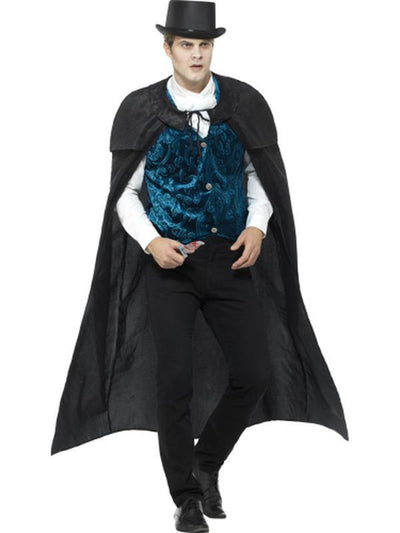 Deluxe Victorian Jack The Ripper Costume-Costumes - Mens-Jokers Costume Hire and Sales Mega Store