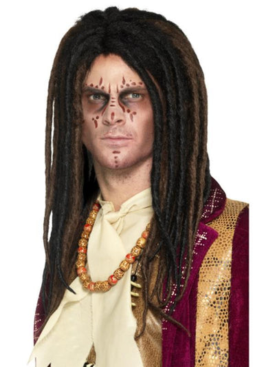 Deluxe Voodoo Dreadlock Wig-Wigs-Jokers Costume Hire and Sales Mega Store