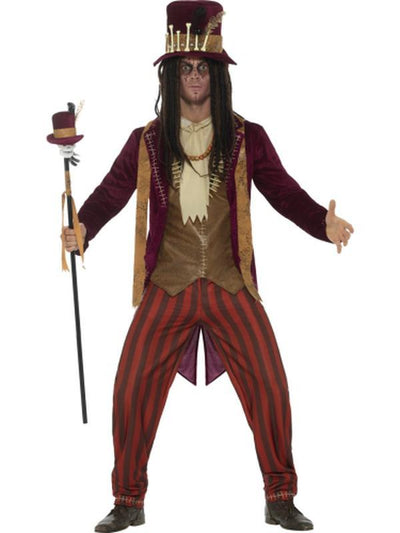 Deluxe Voodoo Witch Doctor Costume-Costumes - Mens-Jokers Costume Hire and Sales Mega Store