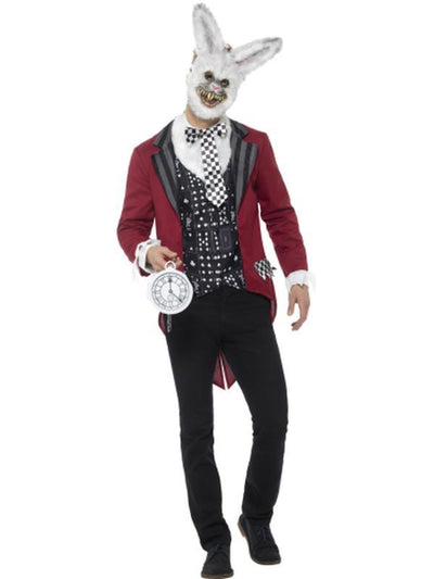 Deluxe White Rabbit Costume-Costumes - Mens-Jokers Costume Hire and Sales Mega Store