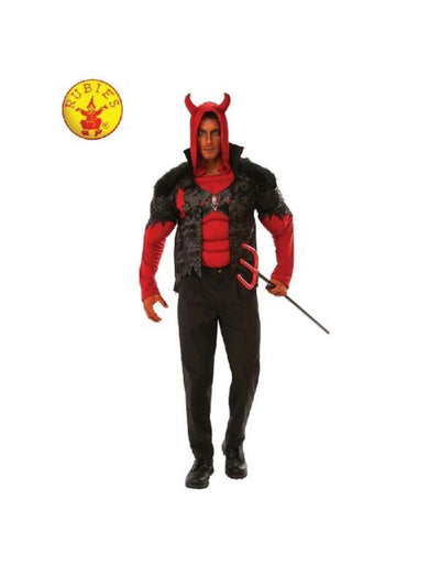 DEVIL COSTUME, ADULT-Costumes - Mens-Jokers Costume Hire and Sales Mega Store