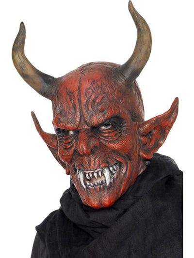 Devil Demon Mask-Masks - Latex-Jokers Costume Hire and Sales Mega Store