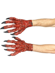 Devil Hands, Latex-Armwear-Jokers Costume Hire and Sales Mega Store
