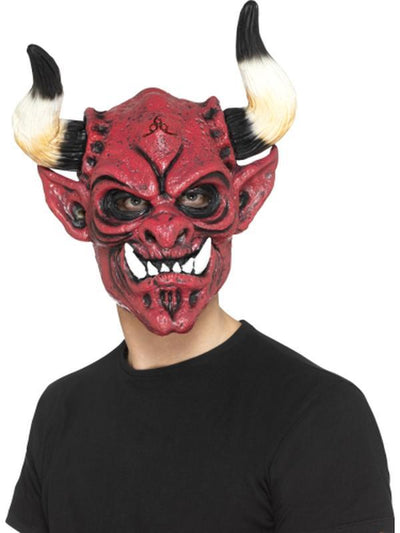 Devil Mask, Foam Latex-Masks - Latex-Jokers Costume Hire and Sales Mega Store