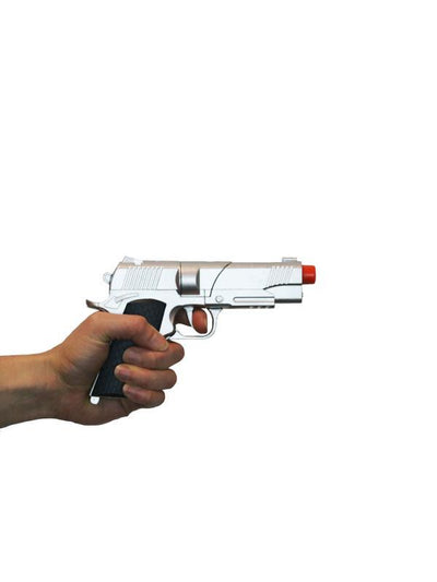 Diecast Automatic Pistol - Adult-Weapons-Jokers Costume Hire and Sales Mega Store