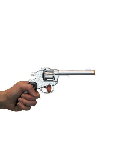 Diecast Cowboy Gun - Adult-Weapons-Jokers Costume Hire and Sales Mega Store