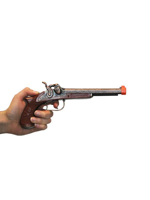 Diecast Pirate Pistol - Adult-Weapons-Jokers Costume Hire and Sales Mega Store