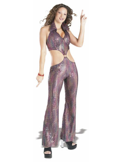 Disco Queen Costume - Size S-Costumes - Women-Jokers Costume Hire and Sales Mega Store