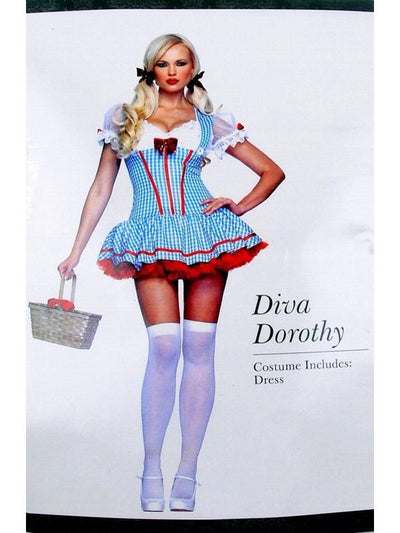 Diva Dorothy-Costumes - Women-Jokers Costume Hire and Sales Mega Store
