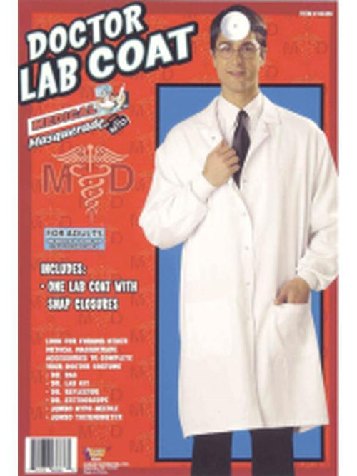 Doctor Lab Coat - Adult XL-Costumes - Mens-Jokers Costume Hire and Sales Mega Store