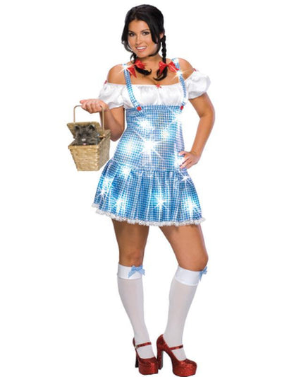Dorothy Full Figure Secret Wishes - Size Plus-Costumes - Women-Jokers Costume Hire and Sales Mega Store