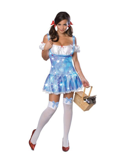 Dorothy Sparkle Secret Wishes - Size M-Costumes - Women-Jokers Costume Hire and Sales Mega Store