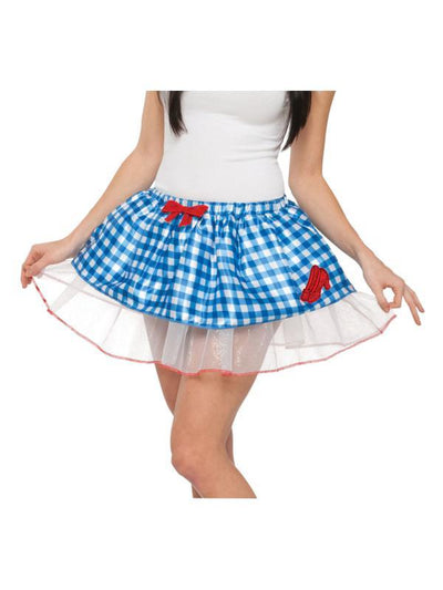 Dorothy Tutu Skirt - Size Std-Costumes - Women-Jokers Costume Hire and Sales Mega Store