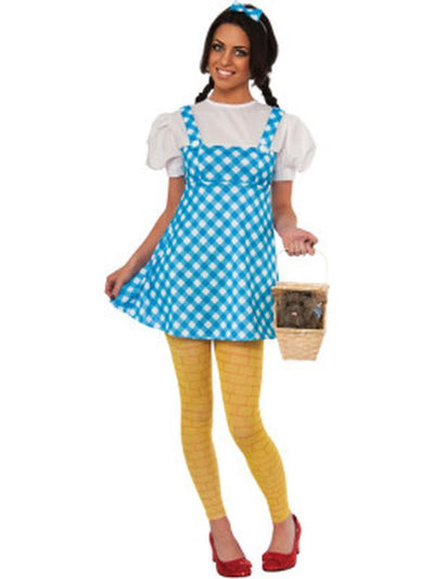 Dorothy Young Adult - Size M-Costumes - Women-Jokers Costume Hire and Sales Mega Store