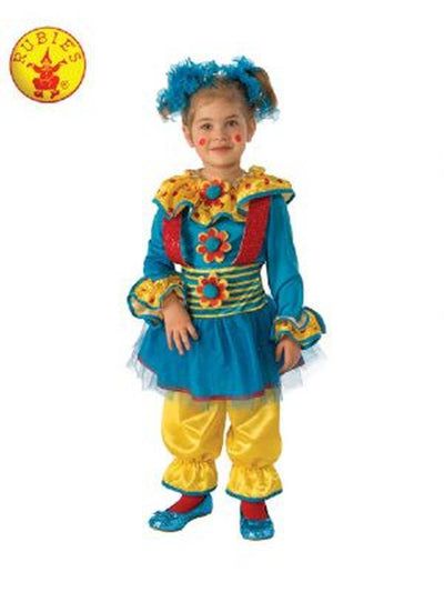 DOTTY THE CLOWN COSTUME - SIZE TODDLER-Costumes - Girls-Jokers Costume Mega Store