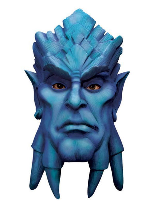 Draenei Deluxe Latex Mask-Masks - Latex-Jokers Costume Hire and Sales Mega Store