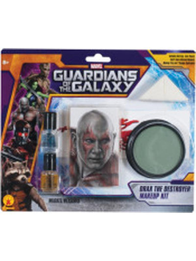 Drax The Destroyer Make Up Kit-Jokers Costume Mega Store