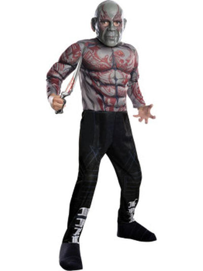 Drax The Destroyer - Size S.-Costumes - Boys-Jokers Costume Hire and Sales Mega Store