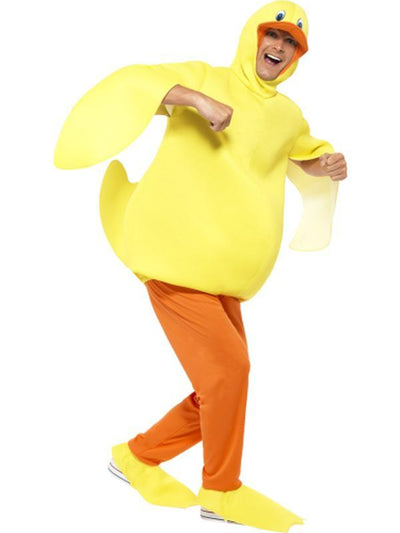 Duck Costume, with Bodysuit, Trousers-Costumes - Mens-Jokers Costume Hire and Sales Mega Store