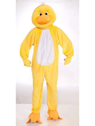 Duck Mascot Costume - Size Std-Costumes - Mens-Jokers Costume Hire and Sales Mega Store
