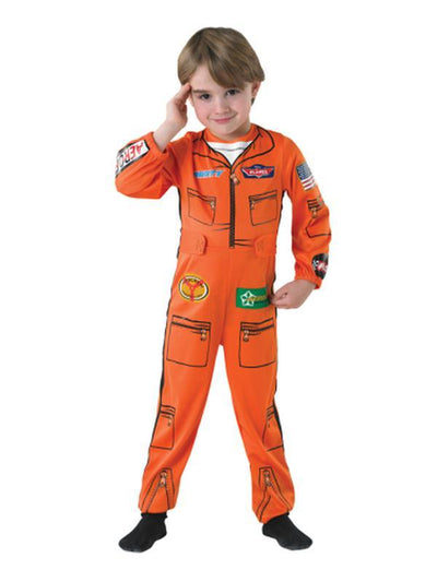 Dusty Planes Flight Suit - Size S-Costumes - Boys-Jokers Costume Hire and Sales Mega Store
