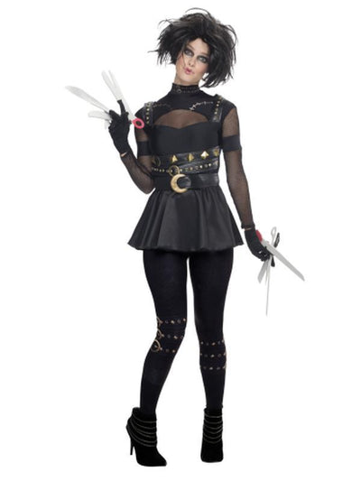 Edward Scissorhands Female Costume - Size S-Costumes - Women-Jokers Costume Hire and Sales Mega Store