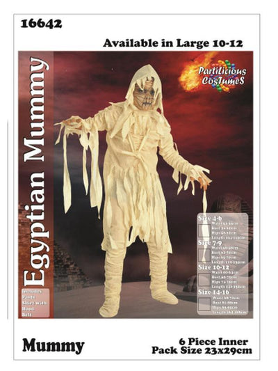 Egyptian Mummy Costume-Costumes - Boys-Jokers Costume Hire and Sales Mega Store