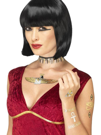 Egyptian Transfer Tattoos-Jokers Costume Mega Store