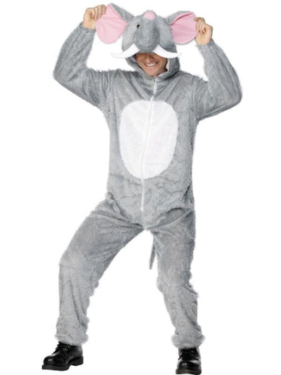 Elephant Costume - Jump Suit-Costumes - Mens-Jokers Costume Hire and Sales Mega Store