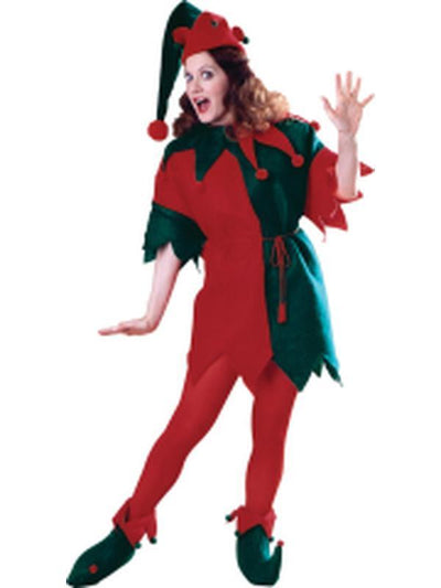 Elf Adult Costume (Boxed Set)-Costumes - Women-Jokers Costume Hire and Sales Mega Store